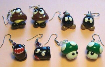 Mario Earings