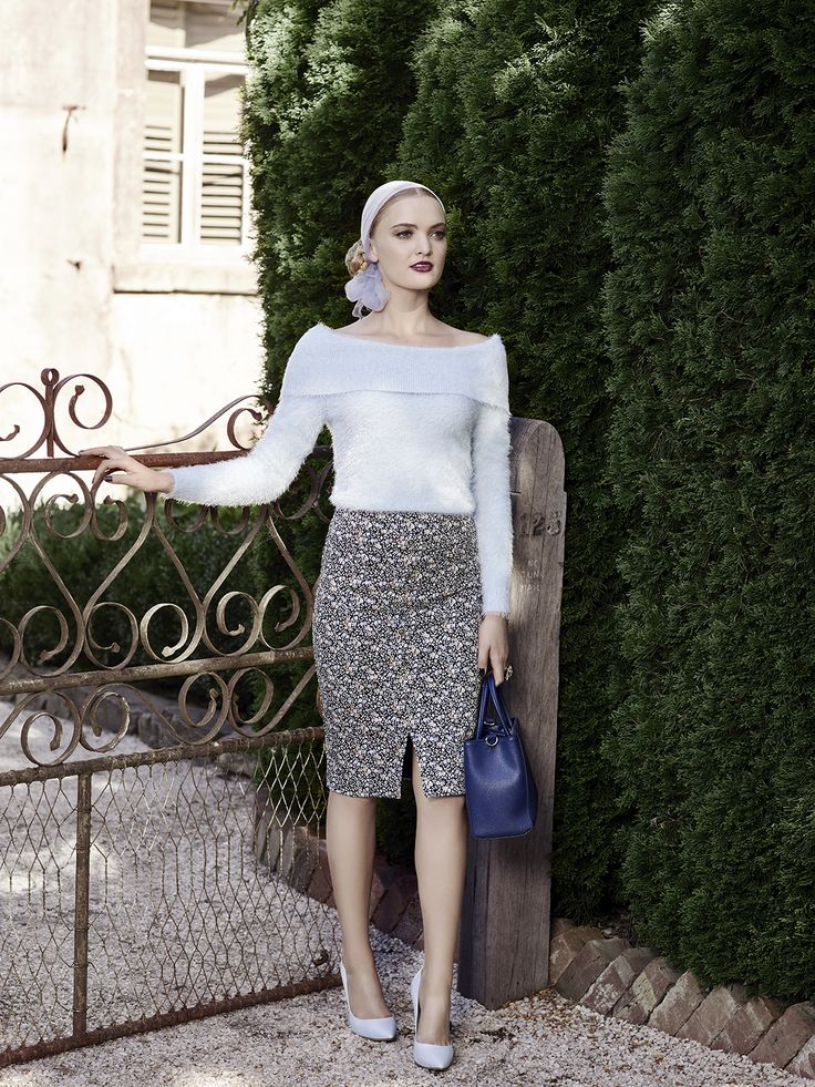 The Elle Jumper, Hamlet Skirt & Sage Bag