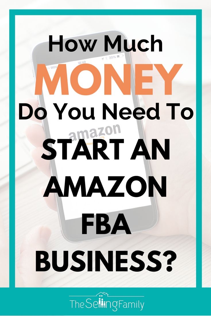 Selling on Amazon FBA is a great business opportunity for many people.  Our family has been selling on Amazon for over 5 years now!  In this post we share with you just how much money it takes to get started selling on Amazon.    I have great news too...It's not going to be nearly as much as you think :)