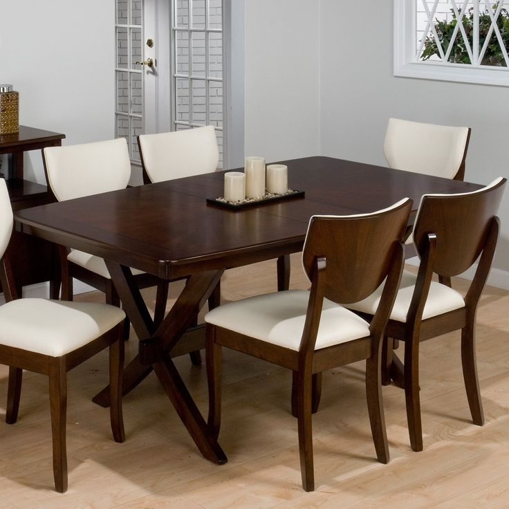 Jofran Satin Street Rectangular Dining Table   Dining Tables At Hayneedle