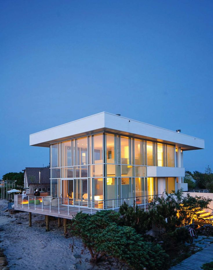 2787 best images about contemporary homes on pinterest for Fire island house richard meier