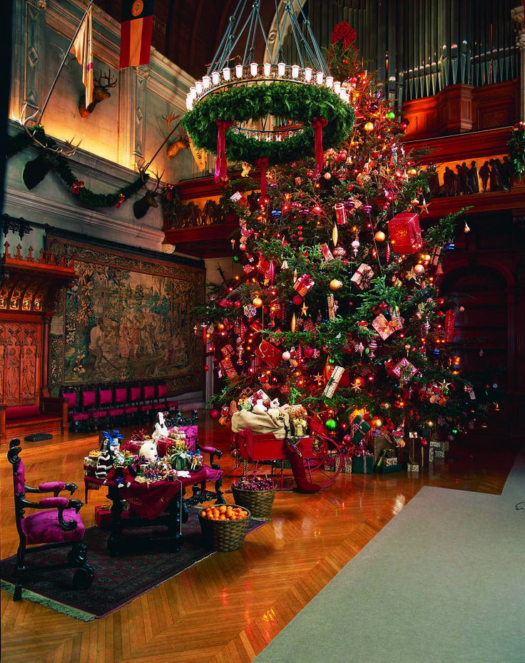 Christmas at the Biltmore Estate ~ Asheville, North Carolina Family Tradition is a few hours from the Biltmore. Fabulous trip over and through the mountains to Asheville. Come down and stay awhile. I also have boards for my two BR and five BR cabins