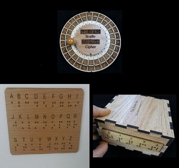 51 best natc escape room images on pinterest breakout boxes a unique collection of escape room puzzle and props which implement braille included in this malvernweather Images
