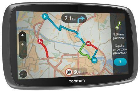 """TomTom GO 610 World LTM GPS coches de 6 """", mapas mundo por 191 €  El TomTom GO 610 es nuestro modelo GO totalmente interactivo con Servicios TomTom para toda la vida, que incluyen actualizaciones de mapas sin coste adicional, actualizaciones de TomTom Traffic en tiempo real y alertas de radares de tráfico.  #chollo #gps #navegador #star #oferta #TomTom"""