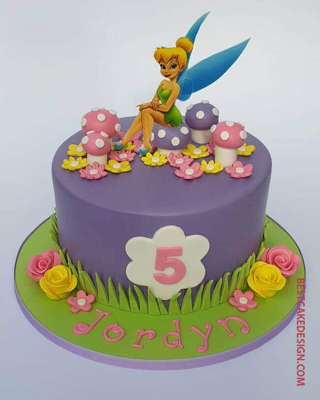 50 Tinker Bell Cake Design Cake Idea October 2019 Fairy Birthday Cake Tinkerbell Birthday Cakes Tinkerbell Cake