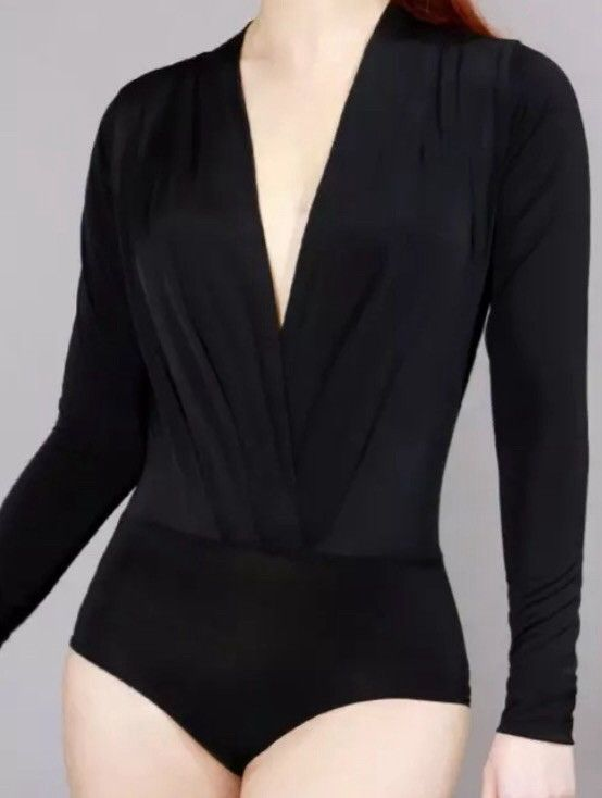 Womens Dress Shirt Bodysuit
