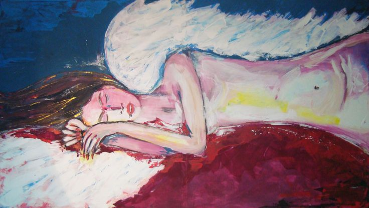 Angel Dream painting contamporary art