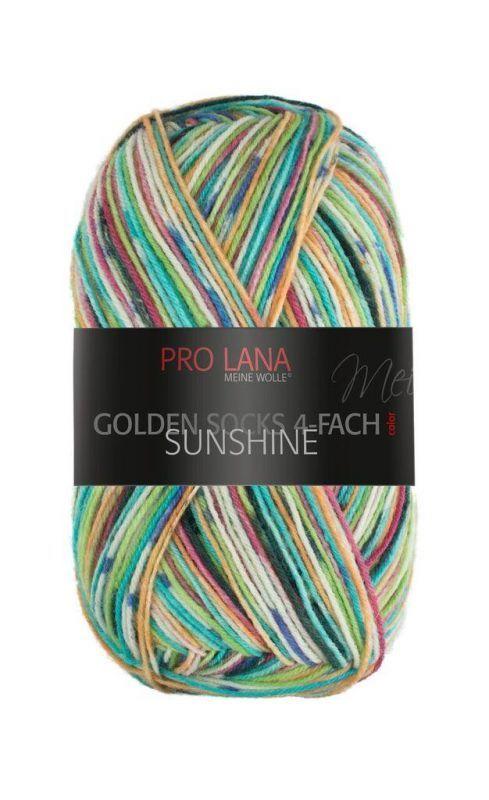 Pro Lana Golden Socks 4-fach Sunshine Fb. 306