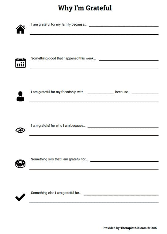 Mental Health Group Worksheets Worksheets for all | Download and ...