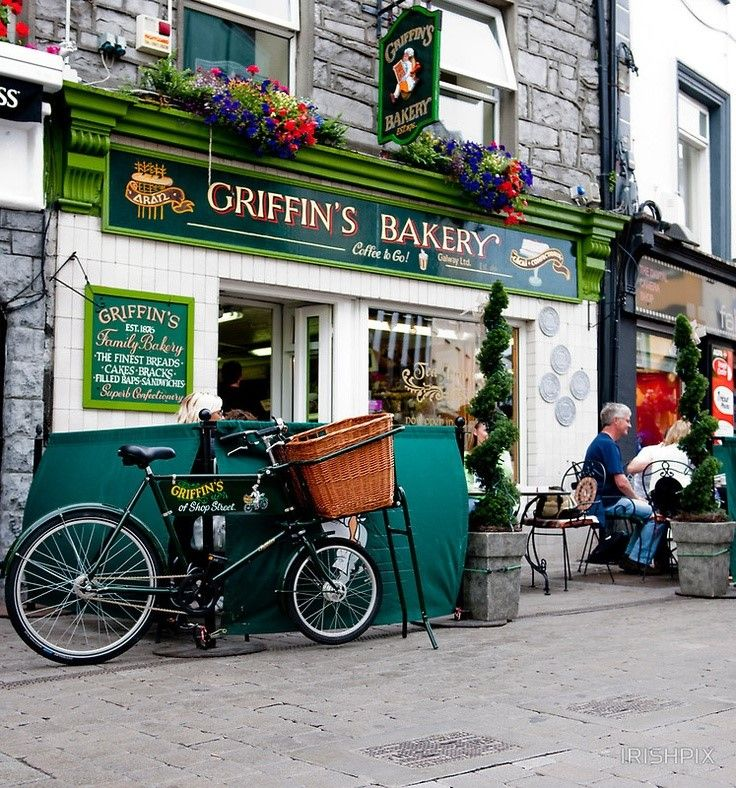 Greatest bakery in the world. Griffins on Shop Street, Galway, Ireland.