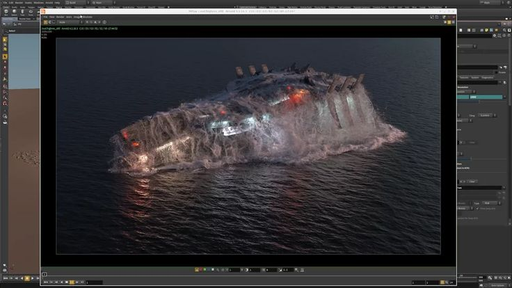 Houdini and Arnold Workflow Demo on Vimeo