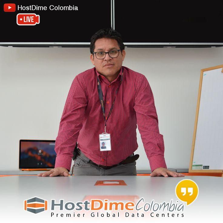 Nuestro consultor #SEO momentos antes de una transmisión en vivo  #HostDime