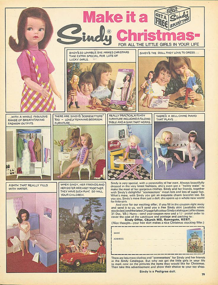 Links to FAB Sindy sites - Sindy Our Pedigree Girl Of The 60's