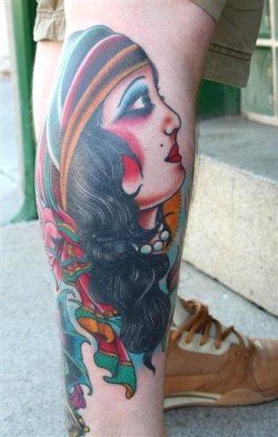 Seth Ciferri - Traditional Gypsy Tattoo