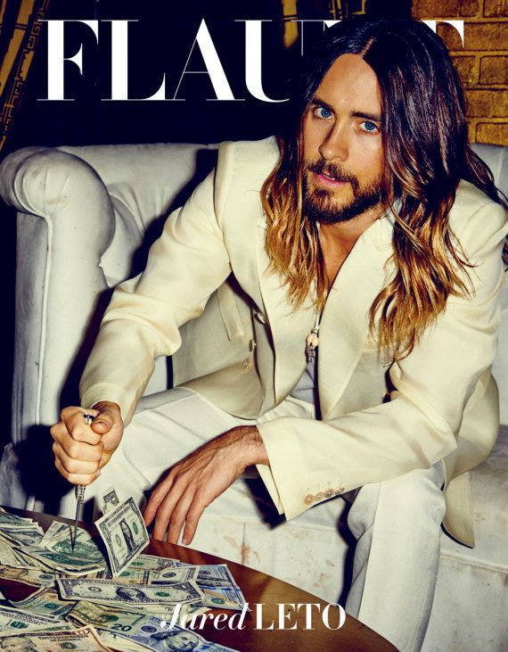 jared leto girlfriend | Jared Leto Is All Kinds of Hot in Flaunt Magazine