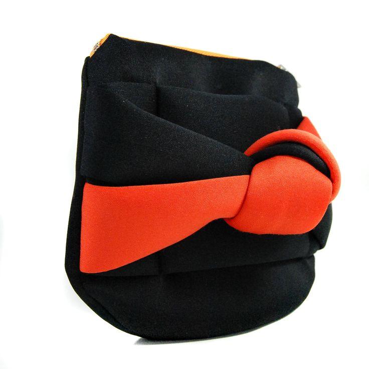 A Neoprene Kimono black