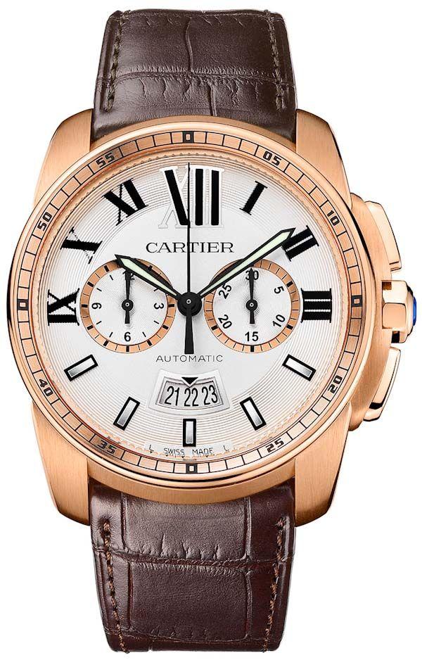 Cartier Calibre Chronograph Watch   Perpetuelle