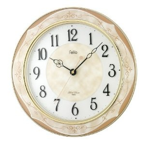 Ladies Fossil Watches - Felio(フェリオ) インテリアデザイン壁掛け時計 アンセム アイボリー FEW168IV | 最新の時間センター