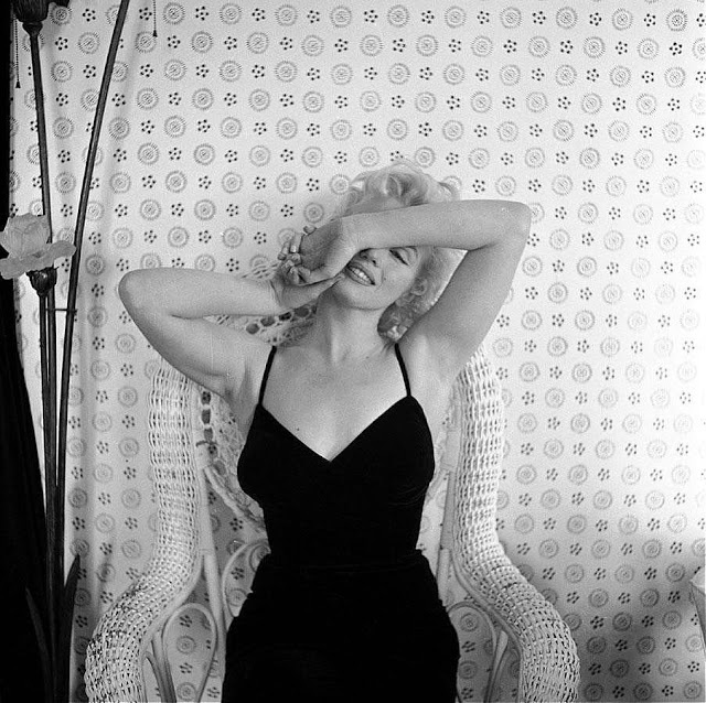 Marilyn Monroe by cecil beaton 1956
