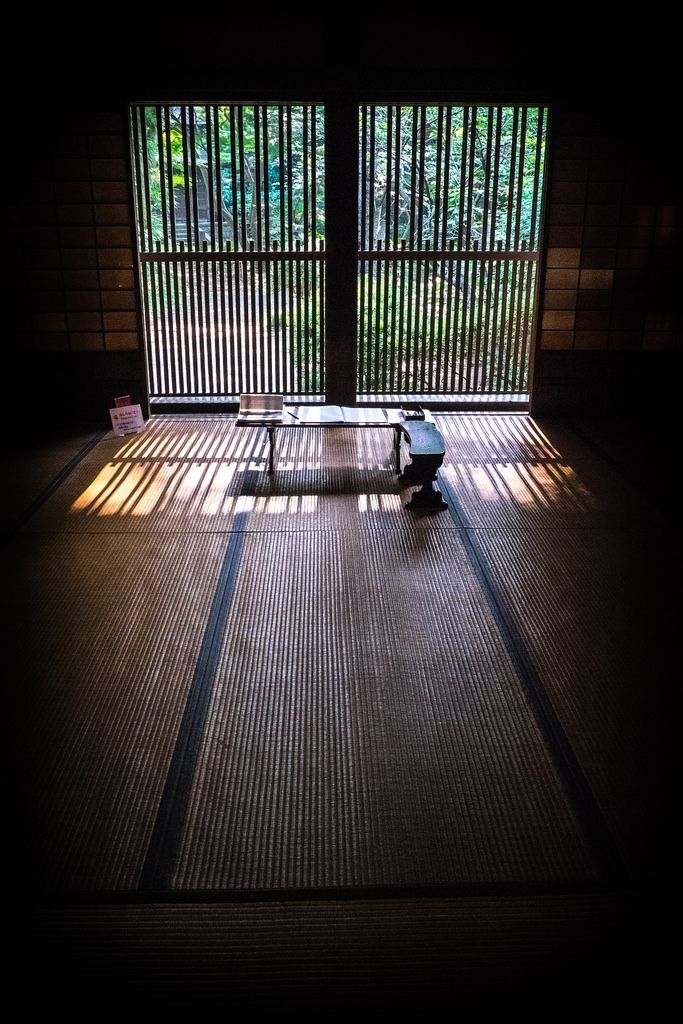 Traditional House in Sankei-en Garden, near Yokohama, Japan by Jerry Jacques