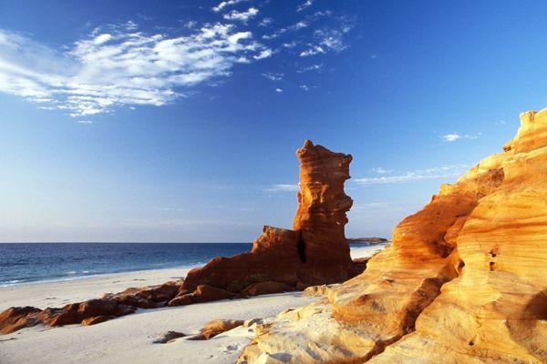 Australie Occidentale dans la région des Kimberley - Escale à Broome - Plage.