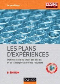 Jacques Goupy - Introduction aux plans d'expériences - Avec applications. - Agrandir l'image