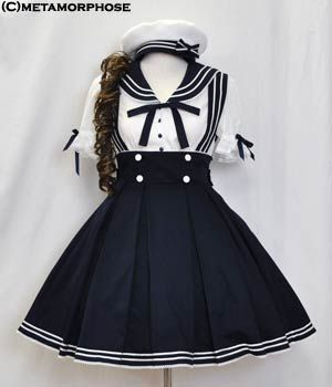 Tailors princess lolita dress cosplay sailor navy uniforms College Wind collar uniforms - Taobao