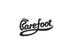 Logo Design... great concept on using a foot for the B