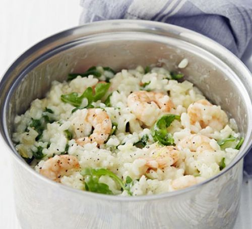 Prawn, fennel & rocket risotto, 391