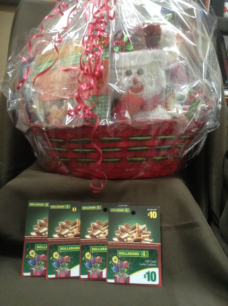 Day 39 of 40 Days of Giveaways. Dollarama is giving away this huge Christmas basked along with $40 of gift cards.