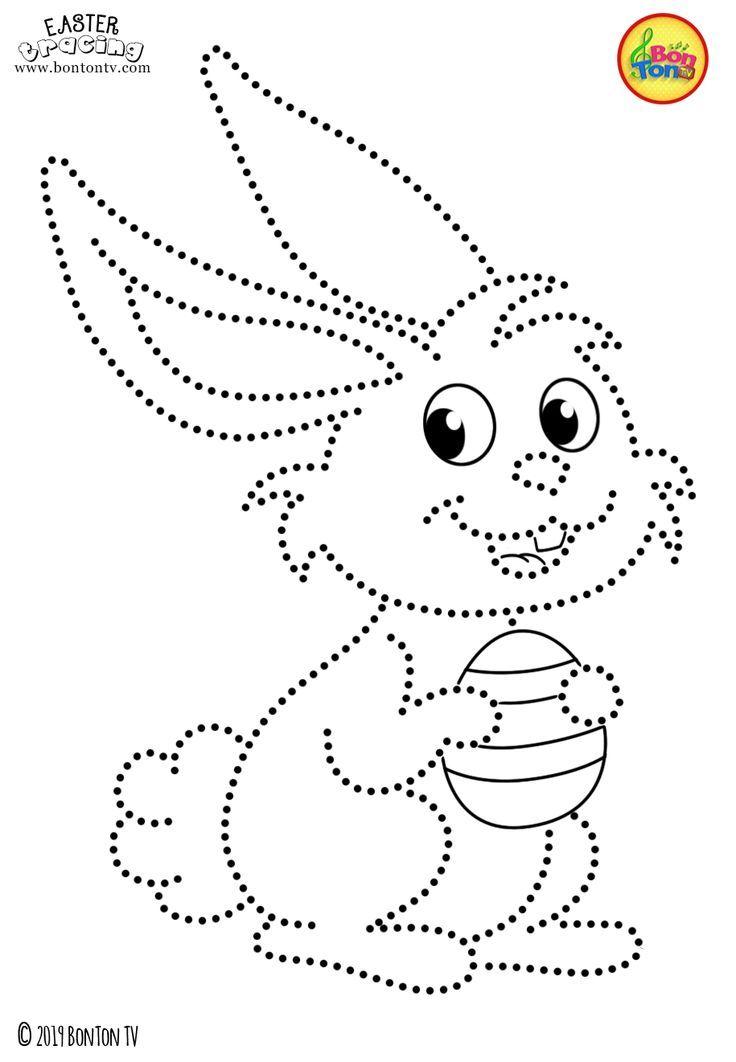 osternspurensuche und malvorlagen für kinder  kostenlose