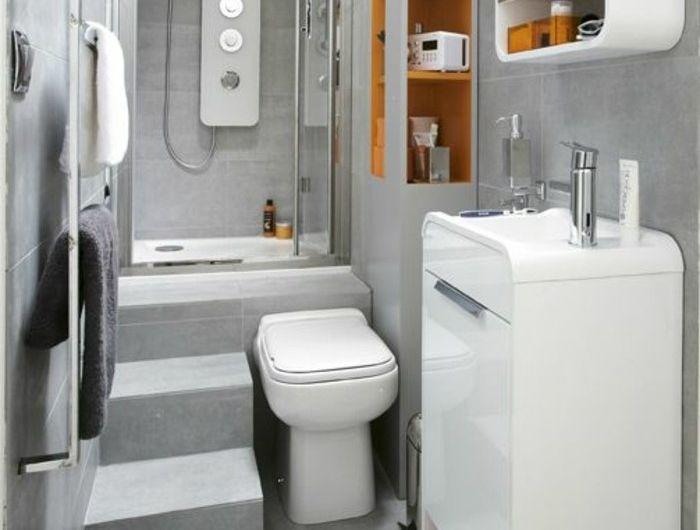 Favori Les 25 meilleures idées de la catégorie Salle de bain 4m2 sur  MP15
