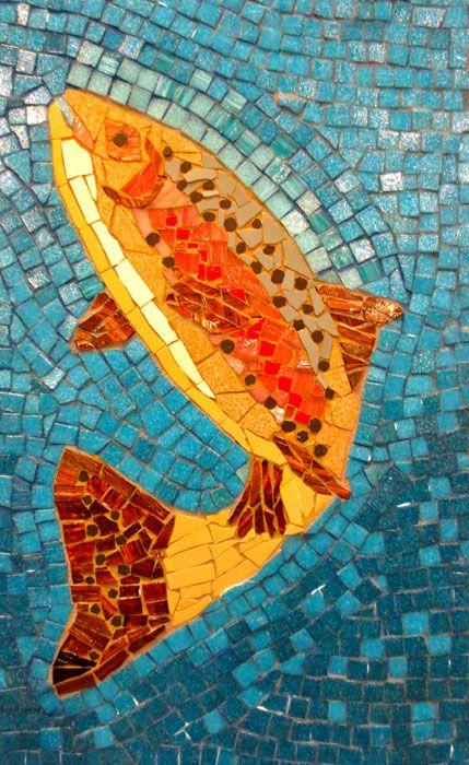 32 Best Mosaic Fish Images On Pinterest Mosaic Animals
