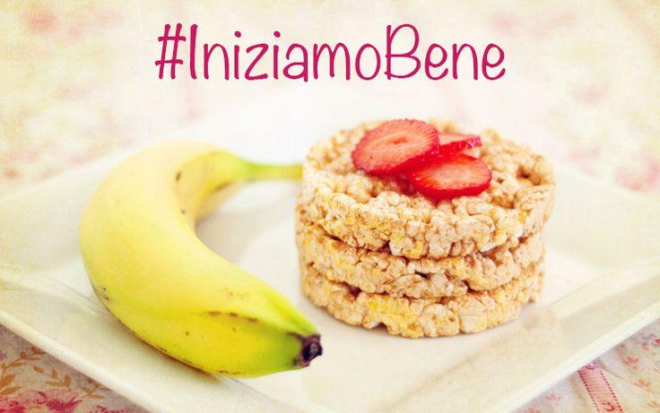 #IniziamoBene il primo giorno di #dieta, con una #colazione equilibrata e #leggera, sognando un #bikiniBody da urlo!