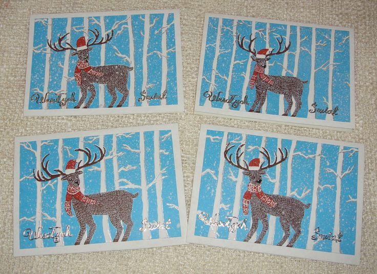 Kartka na Święta Bożego Narodzenia. Christmas card