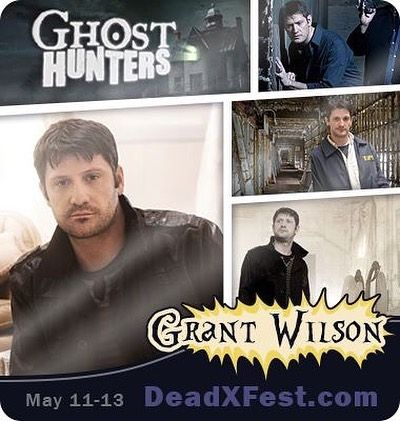 Come meet @grantswilson all three days at @deadxfest ONE in sunny Tampa Florida on May 11-13!!! Grant is most known for being one of the founders creators and stars of Ghost Hunters on the @syfy Channel.  He has appeared on many paranormal TV shows including Destination Truth Paranormal Lockdown and Ghost Hunters International (to name a few). Grant is a true pioneer and icon in the paranormal community. Don't miss this rare opportunity to meet him face-to-face and get his autograph and your…