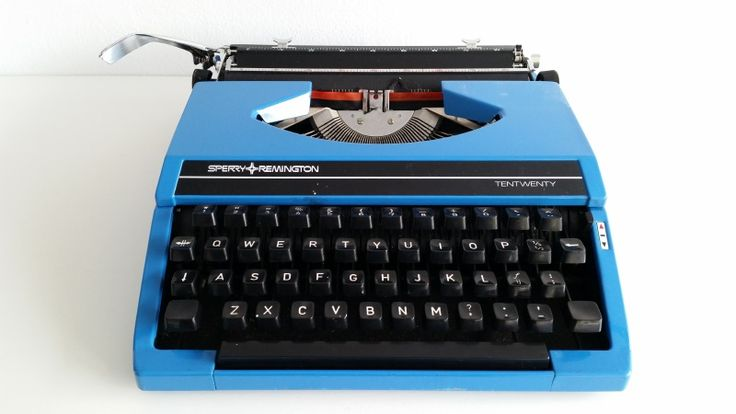 Typemachine | Sperry Remington | Blauw