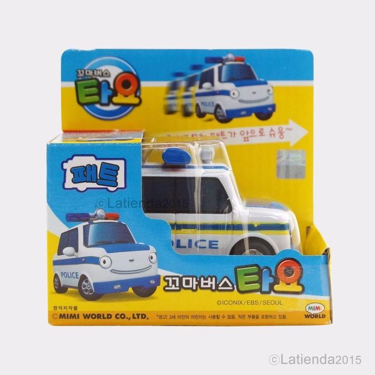 #Pat #TheLittleBus #Tayo #Korea #TV #Animation #Character #Plastic #Kids #Toy 3.5 inch #MimiWorld