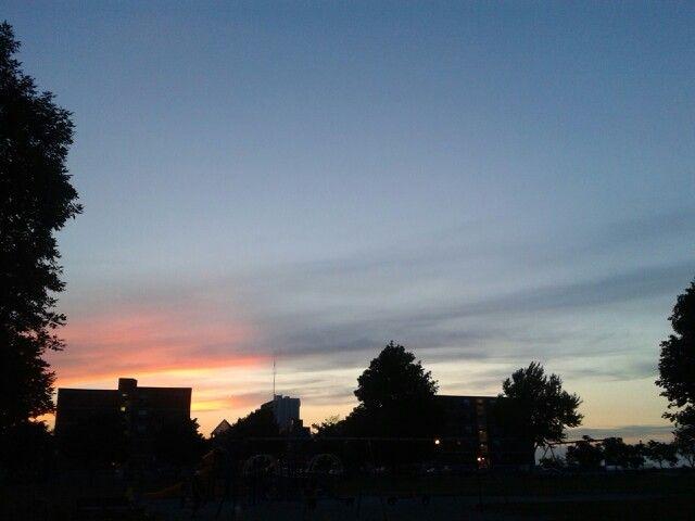 Hamilton Escarpment Sunset