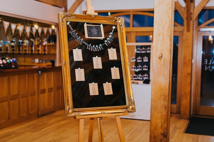 Who says a table plan has to be fussy and time consuming? This mirror serves as a perfect backdrop for a classy table plan. @RivervaleBarn Photo by Benjamin Stuart Photography #weddingphotography #tableplan #mirror #rivervalebarn #weddingbreakfast #weddingdecor