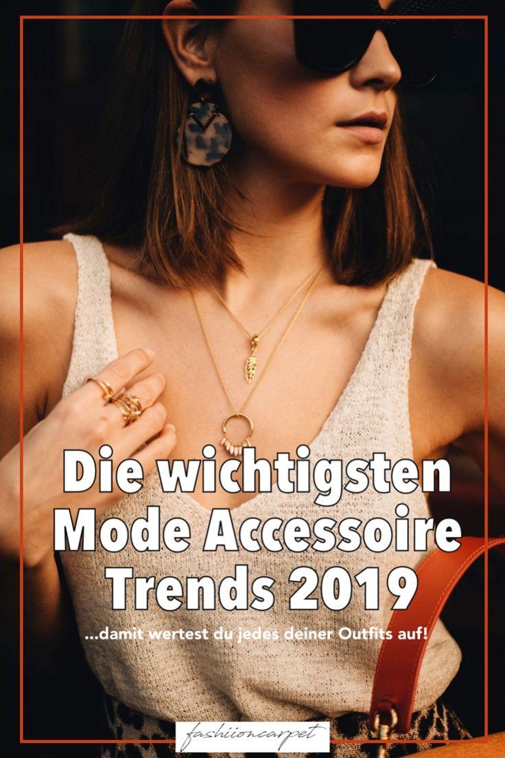 Die wichtigsten Mode Accessoire Trends 2019 – Fashiioncarpet – Mode, Beauty, Wohnen & Reise Inspiration