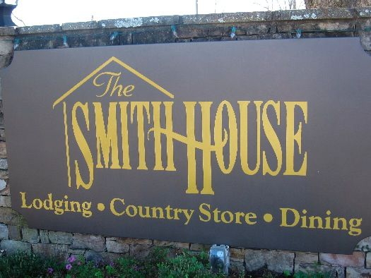 The Smith House, Dahlonega, GA - circa 1922 - Family seating and traditional Southern cooking. Love this place!