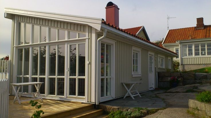 Tillbyggnad & gäststuga Strömstad. - Heggum Bygg & Dyktjänster AB
