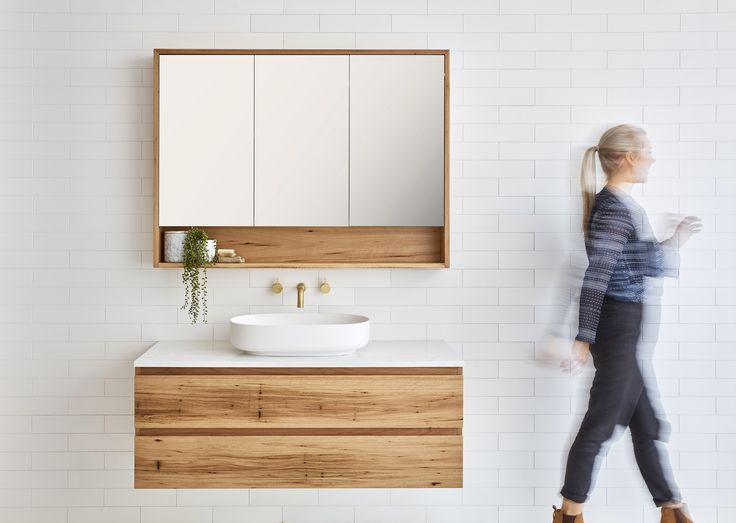 Avoca timber vanity. Add a contemporary feel to your bathroom.
