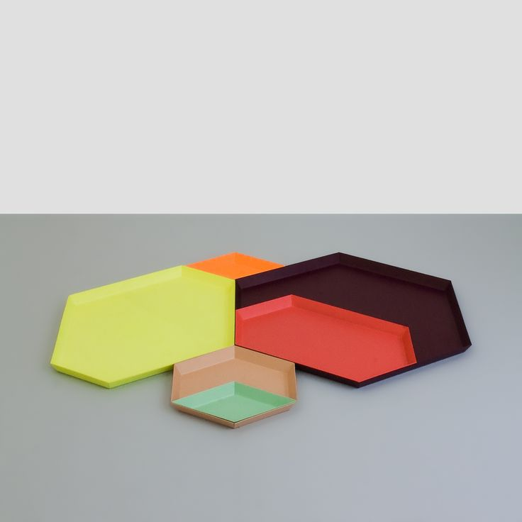 'Kaleido' trays by Hay