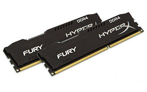 Kingston HyperX FURY Black 16GB Kit (2x8GB) 2133MHz DDR4 Non-ECC CL14 DIMM Desktop Memory (HX421C14FBK2/16) Kingston Technology http://www.amazon.com/dp/B00TY6A1LY/ref=cm_sw_r_pi_dp_f6tVwb1BNP4WE