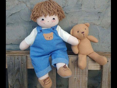 Patrón y DIY para hacer un Muñeco de trapo - Patrones gratis