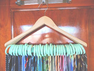 McKell's Closet: How to Organize Ties!