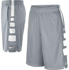 Derek - Grey and White Sz. Lg  Nike Boys' Elite Stripe Basketball Shorts - Dick's Sporting Goods