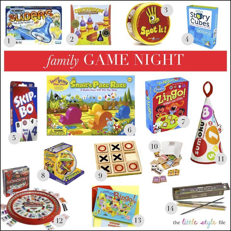 family game nigh! t #games #fun #kids
